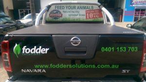 Fodder Solutions Ute Installation